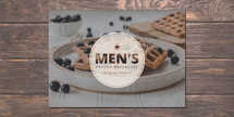 Men's Prayer Breakfast Postcard
