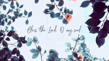 Bless the Lord, O my soul