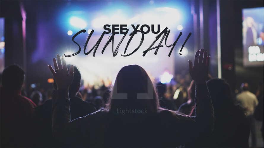 See You Sunday Slide