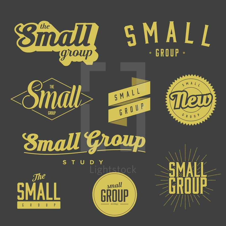 small group icons pack.