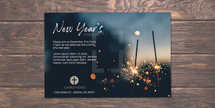 New Year's Service Postcard