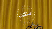 Here comes the weekend!