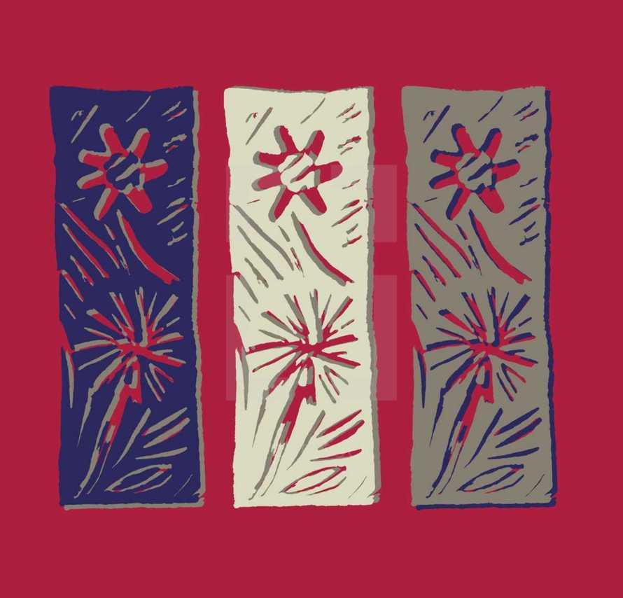 flower strip