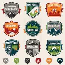 Woods badges