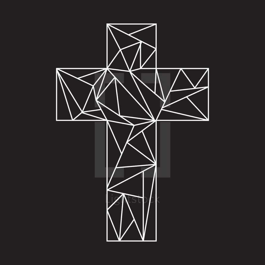 geometric cross