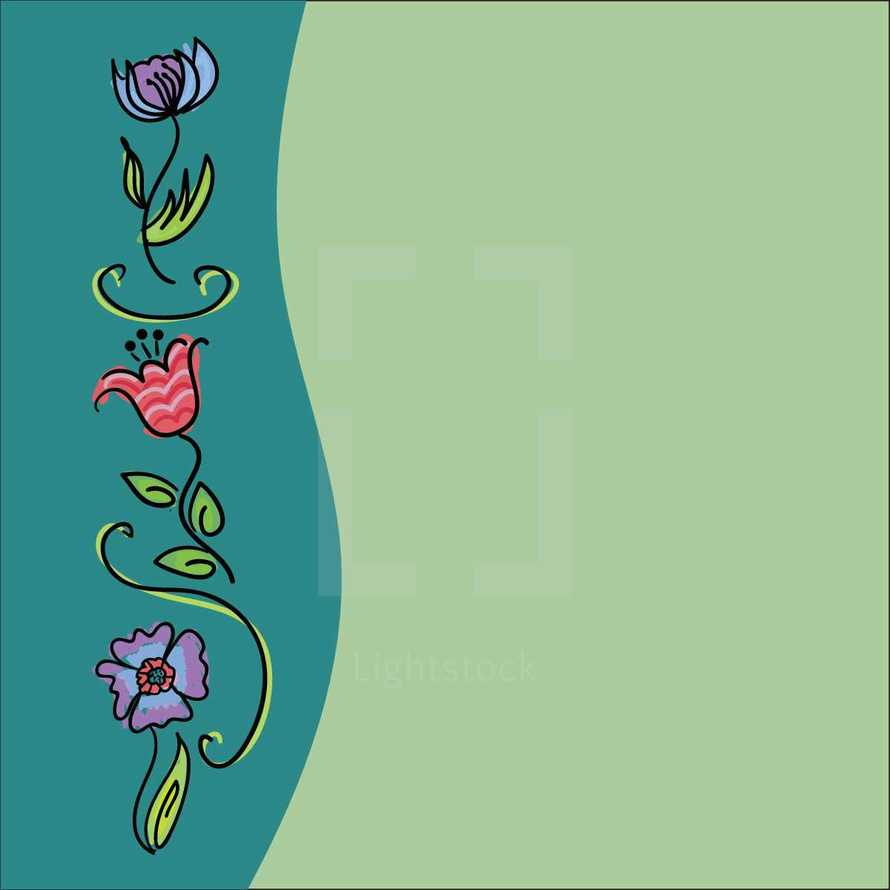 flower sidebar