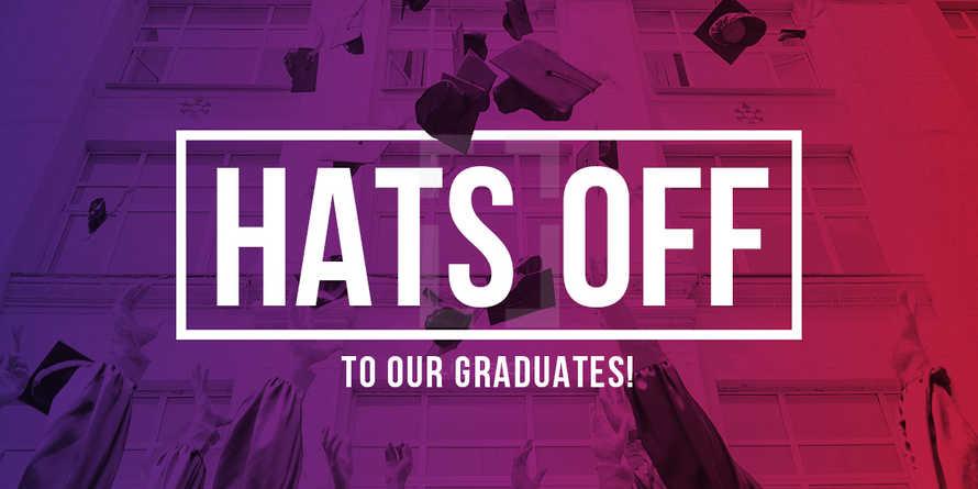 "Graduation Slide Pack - ""Hats Off"""