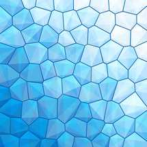 Blue abstract geometrical background with sexangle, triangle shapes. Graphic element for design saved as an vector illustration in file format EPS