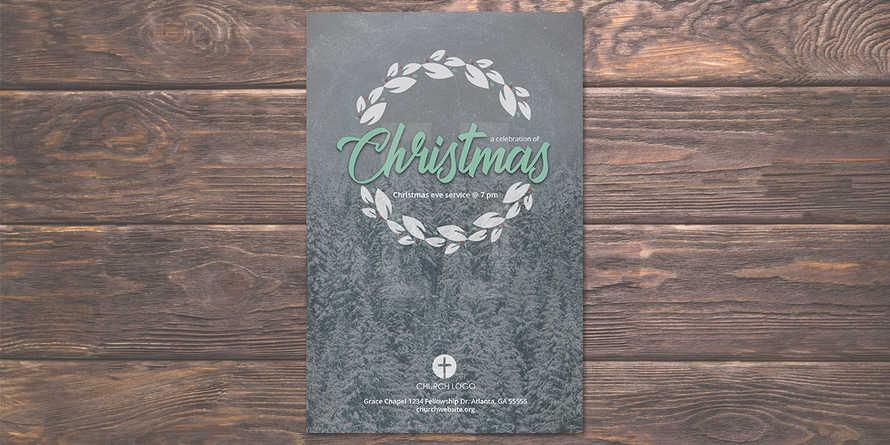 Christmas Eve Service Flyer