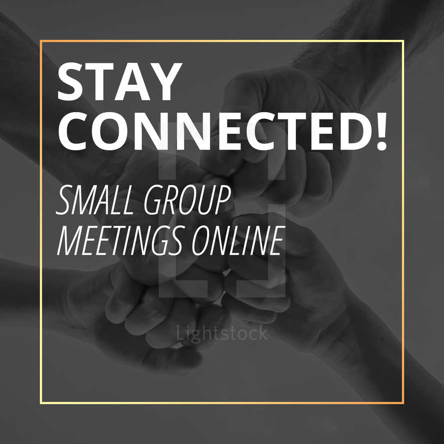 Small Groups Online Social