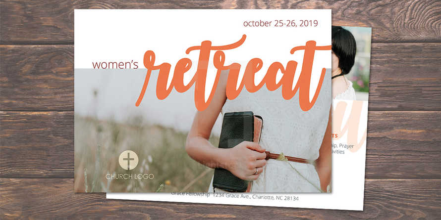 Women's Conference/Retreat Postcard