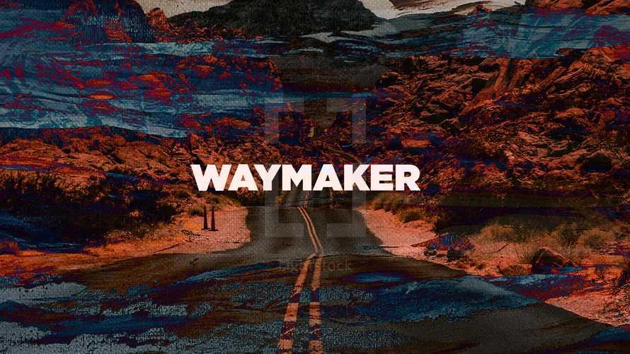 Waymaker Inspirational Slide