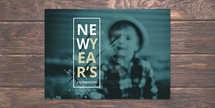 New Year's Celebration Postcard
