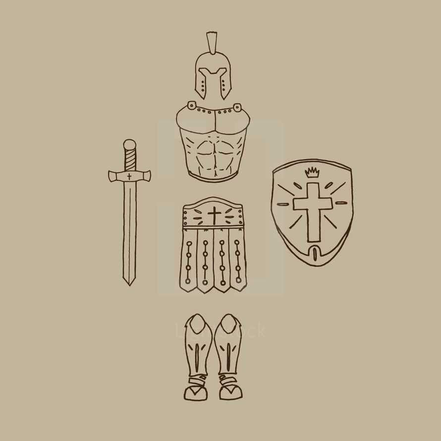 armor of God illusration