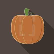 artsy pumpkin