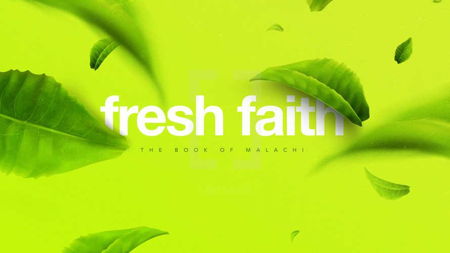 Fresh Faith: The Book of Malachi