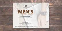 Men's Bible Study Postcard