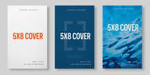 Book Cover Mockup (5x8) Softbound
