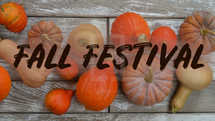 slides for thanks giving or fall festivals with different kinds of pumpkins as psd and jpg files – text individually exchangeable