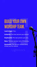 Build your own worship team.