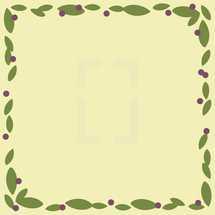 foliage frame