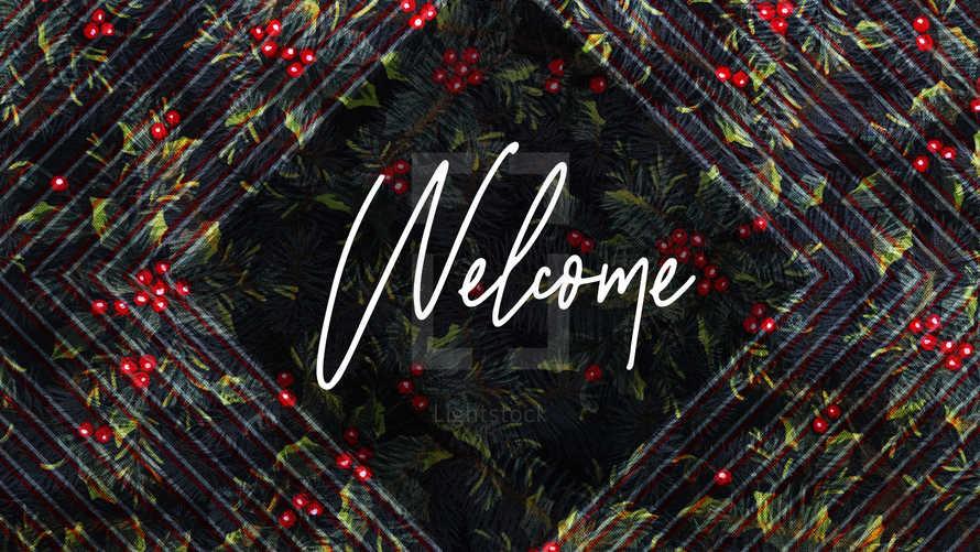 Christmas Welcome Slide