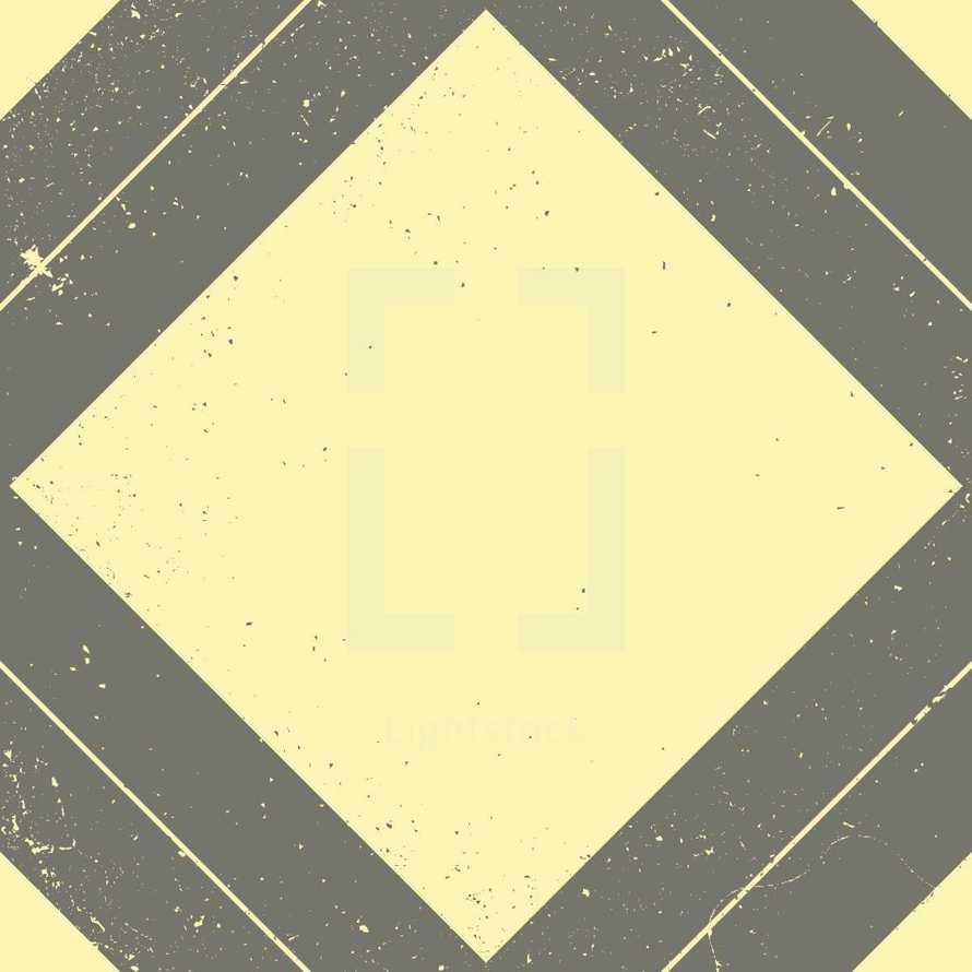 abstract grunge diamond background
