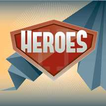 Bible Heroes sign