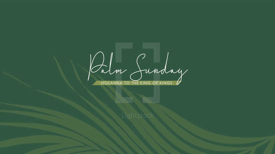 Palm Sunday Slide