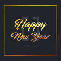 Happy New Year Social Graphic