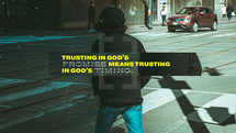 Trusting in God's promise means trusting in God's timing