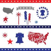 American vector pack