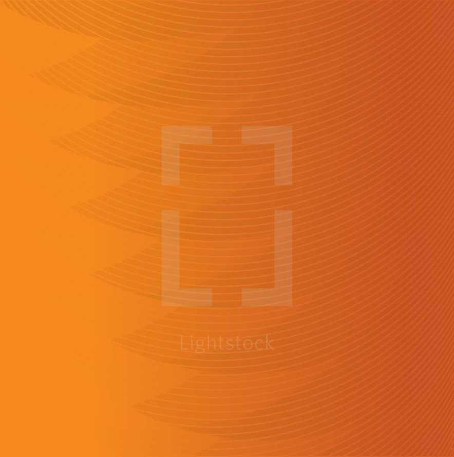 Orange waves background