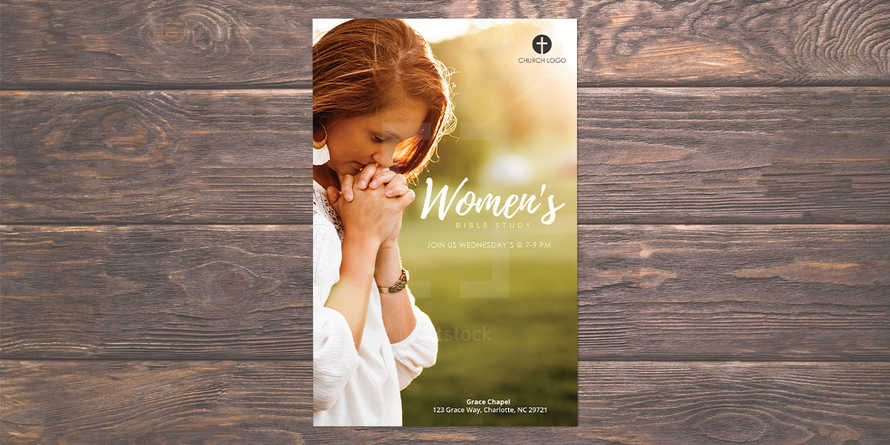 Women's Bible Study Flyer