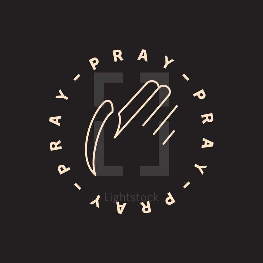 Pray badge