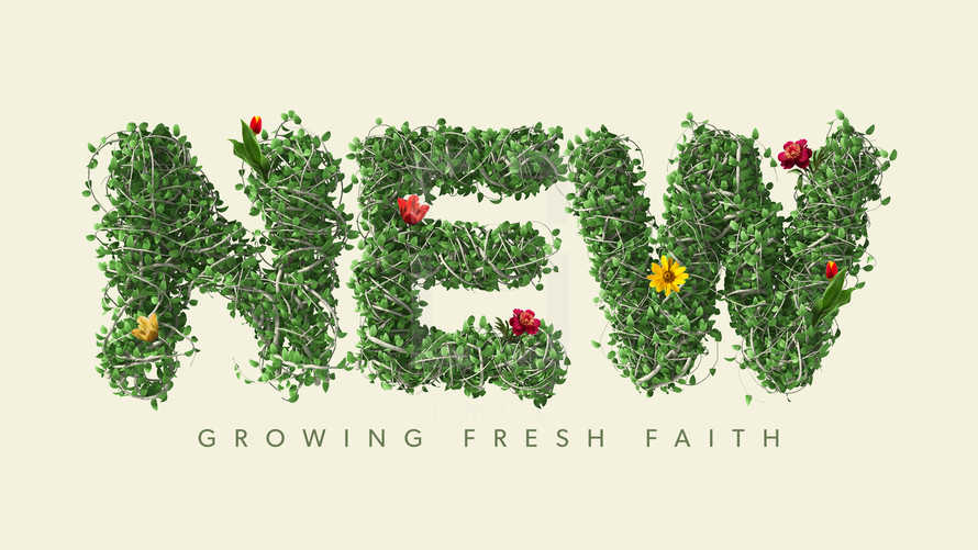 New: Growing Fresh Faith