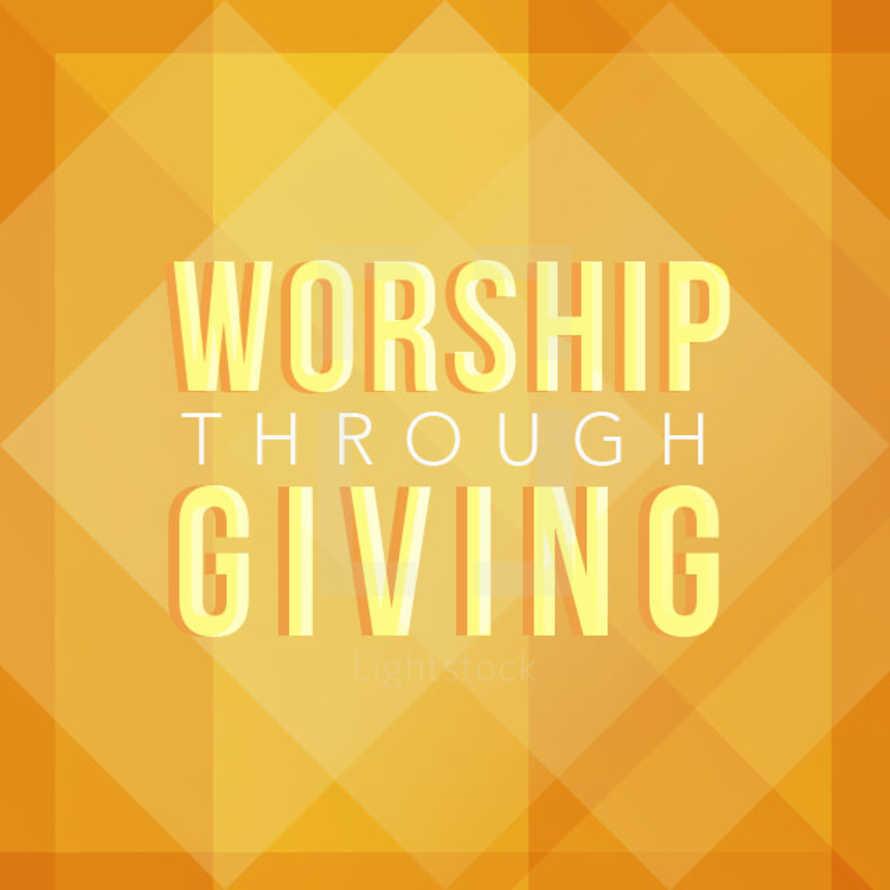 Worship Through Giving