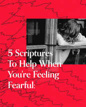 5 Scriptures To Help When You're Feeling Fearful