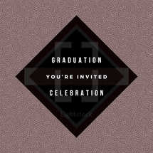 Graduation Invitation Social Graphic