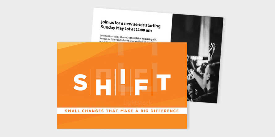 Shift - Postcard