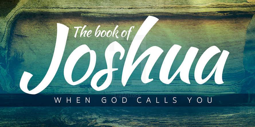 The Book of Joshua - Sermon Series Slides