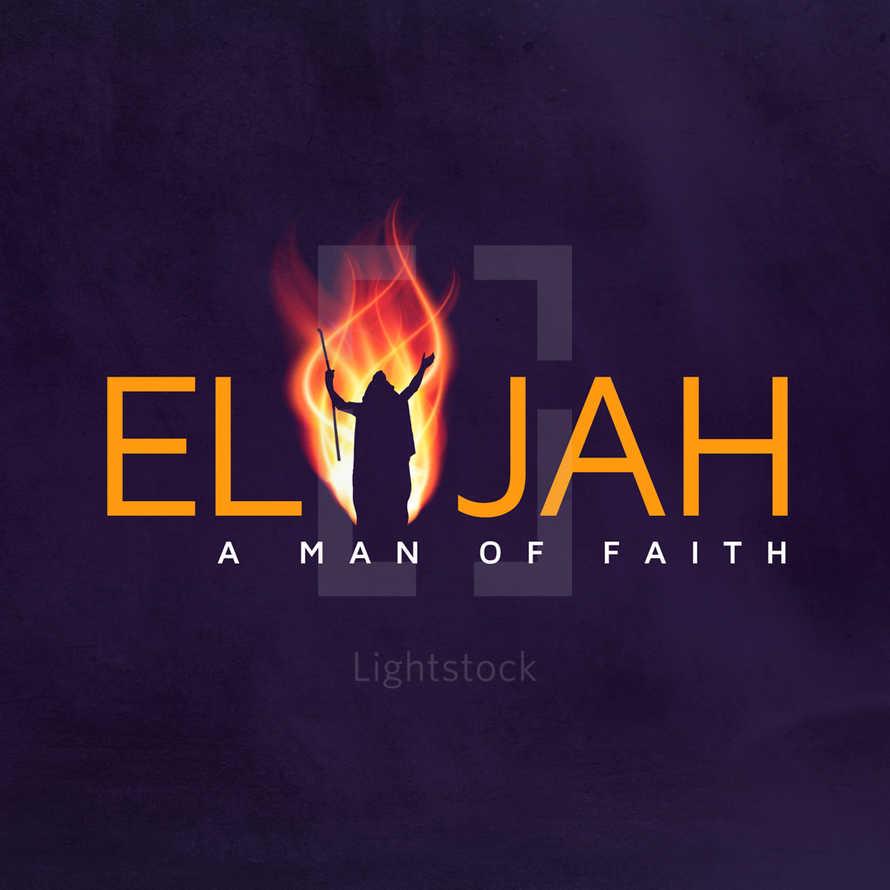Elijah Sermon Series - Social Graphics