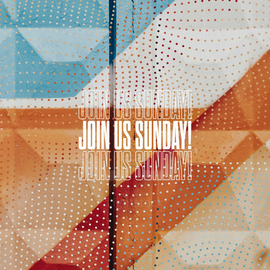 Join us Sunday!