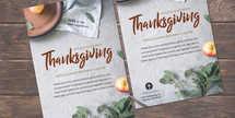Thanksgiving Potluck Flyer