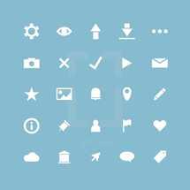 web icons set.