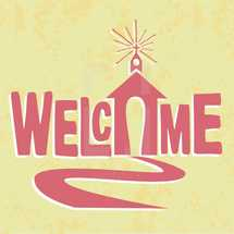 welcome with church