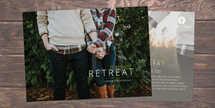 Marriage Retreat Postcard