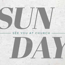 Sunday Church Social Graphic