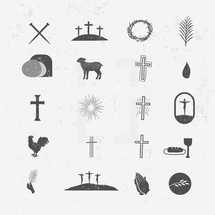 Easter Pack of Icons for Easter