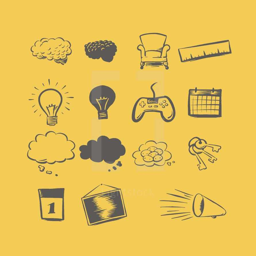 15 object and thing illustrations to help your ideas stick.